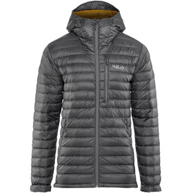Rab Microlight Alpine Long Jacket Men grey